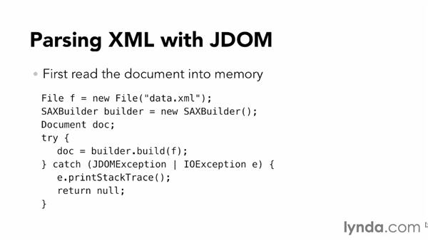 How JDOM works: XML Integration with Java