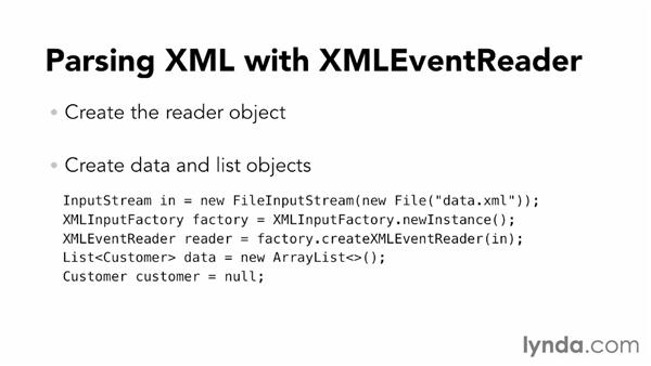 How StAX works: XML Integration with Java