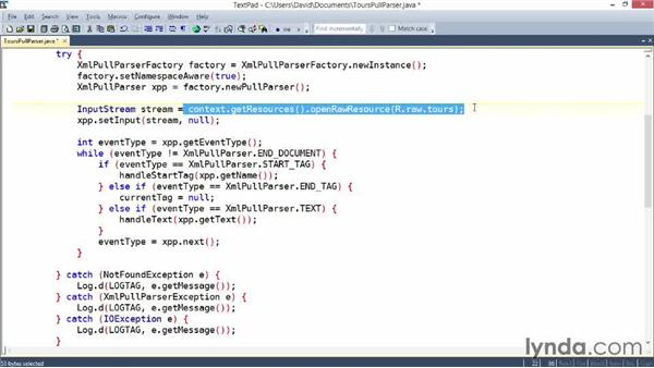 Parsing XML in Android with XmlPullParser: XML Integration with Java