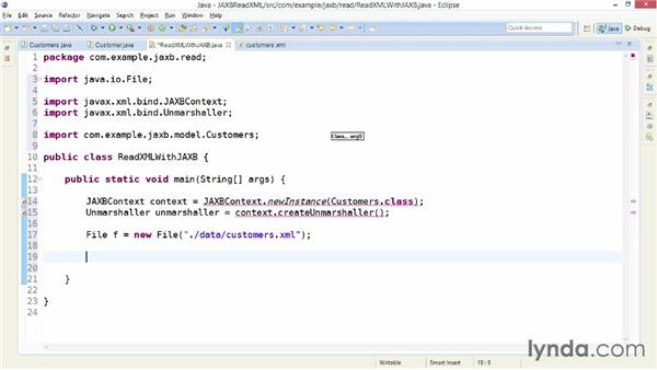 Parsing XML with JAXB and annotated classes: XML Integration with Java