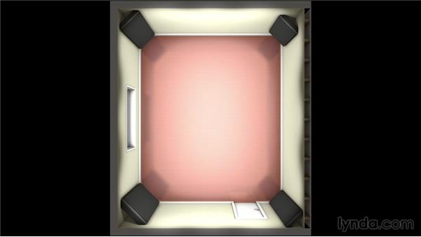 Treating the corners: Music Studio Setup and Acoustics