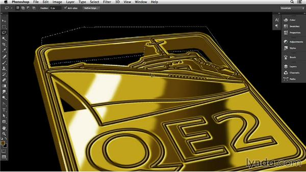 Charms and medallions in Photoshop: Adding a third dimension: Pixel Playground