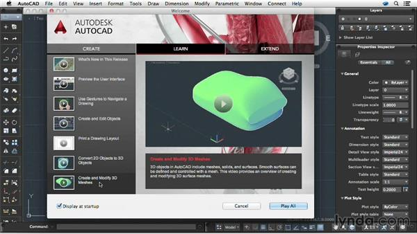 Using the Welcome screen: AutoCAD for Mac 2014 New Features