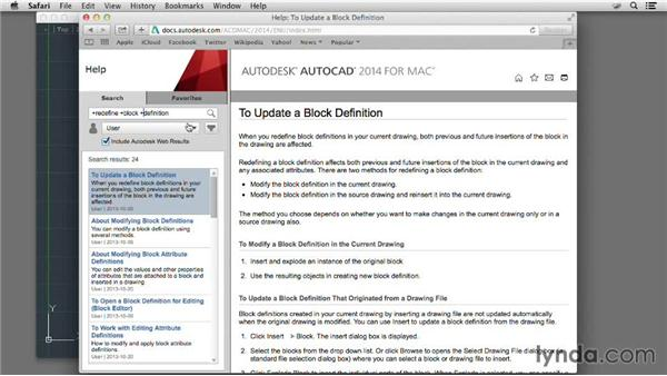 Searching for specific topics: AutoCAD for Mac 2014 New Features