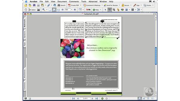 creating articles: Acrobat 7 Essential Training