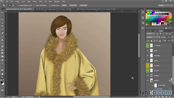 Brush basics: Photoshop for Fashion Design: Rendering Techniques