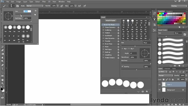 Making a bead brush: Photoshop for Fashion Design: Rendering Techniques