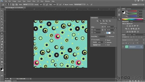 Making a seamless repeat of a random pattern: Photoshop for Fashion Design: Rendering Techniques