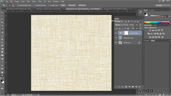 Using filters to add texture: Photoshop for Fashion Design: Rendering Techniques
