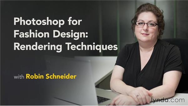 Next steps: Photoshop for Fashion Design: Rendering Techniques