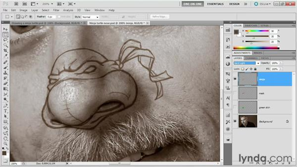 f7fd5f26e 107 Drawing a Ninja Turtle nose