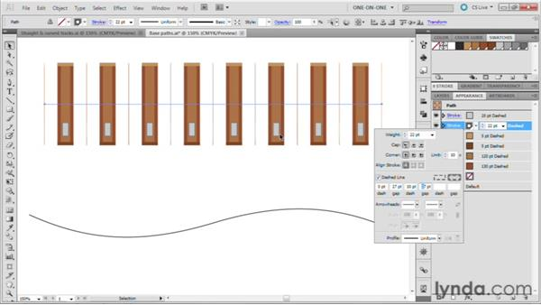 112 Designing a railroad track: Deke's Techniques