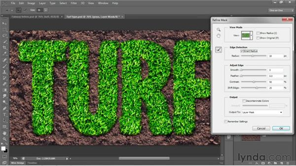 117 Creating type in grass: Deke's Techniques