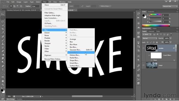 118 Rendering type in smoke: Deke's Techniques