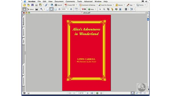 inserting and deleting pages: Acrobat 7 Essential Training