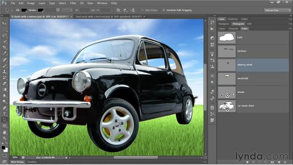 141 Pimping your ride in Photoshop: Deke's Techniques