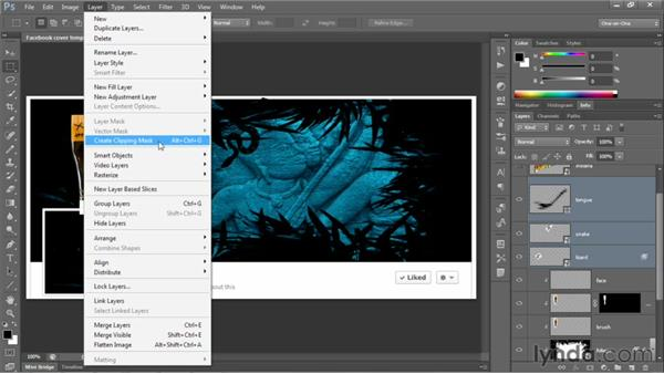 156 Creating a Facebook cover in Photoshop: Deke's Techniques
