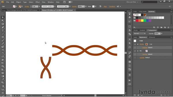 173 Designing a double-wave line pattern: Deke's Techniques