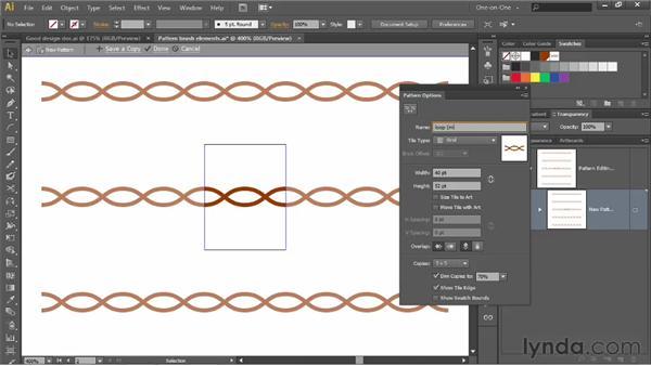 174 Assembling a seamless pattern brush: Deke's Techniques