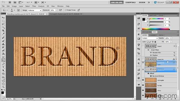 003 Creating an image-branding machine: Deke's Techniques