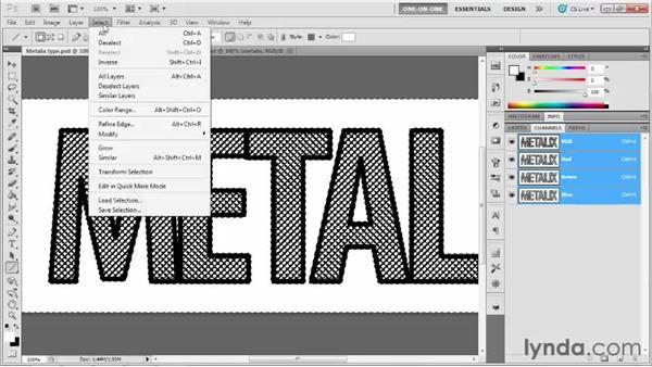 007 Creating heavy metal type: Deke's Techniques