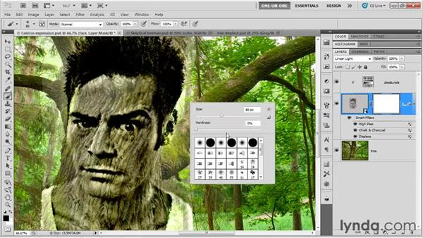 014 Creating a face in a tree: Deke's Techniques