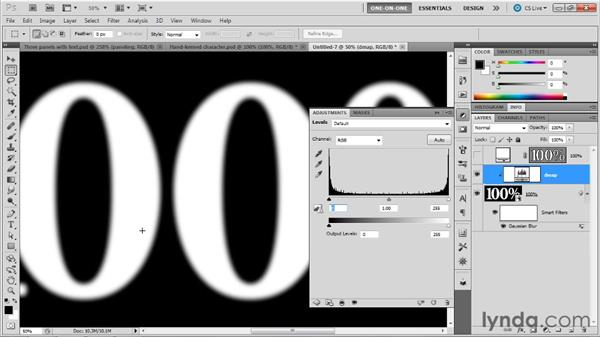 040 Creating a raised bevel effect