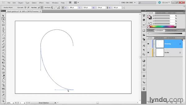 042 Creating a classic heart in Illustrator: Deke's Techniques