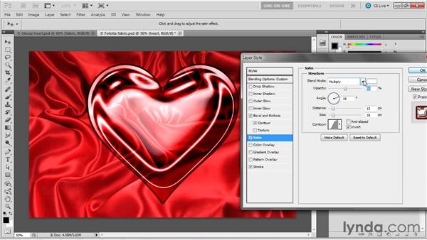 043 Glossing up a heart in Photoshop: Deke's Techniques