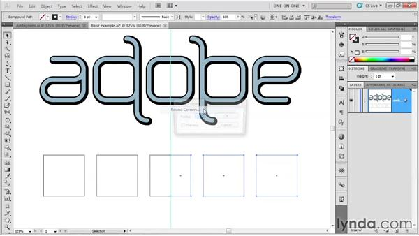069 Creating an ambigram in Illustrator: Deke's Techniques
