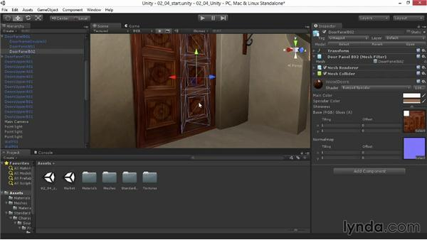 Letting the light shine with self-illuminating materials: Materials and Lighting in Unity