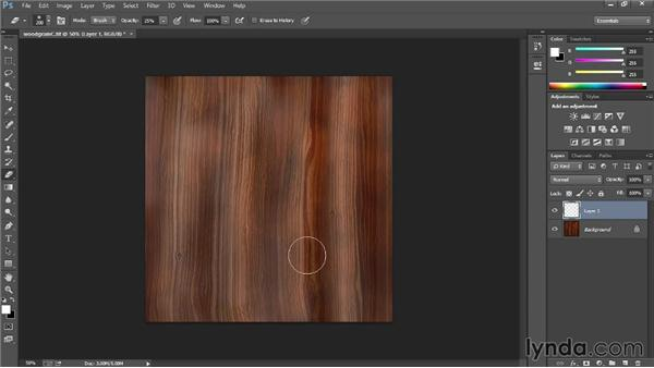 Creating weathered wood through color overlays: Materials and Lighting in Unity