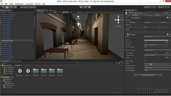 Fine-tuning hard and soft shadows: Materials and Lighting in Unity