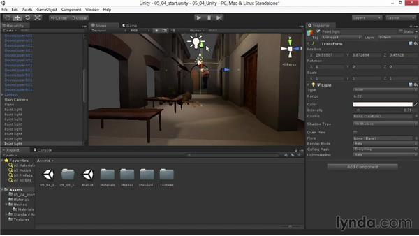 Color-tinting the baked light: Materials and Lighting in Unity