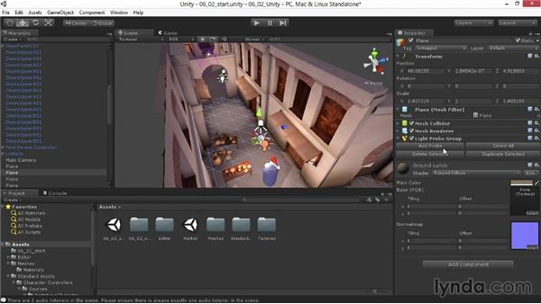 Adjusting the proximity and look: Materials and Lighting in Unity