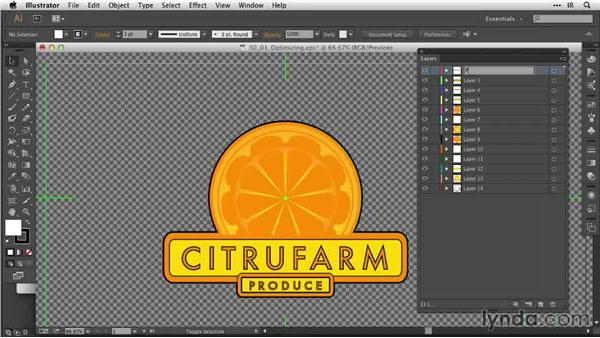 Optimizing layers for animation in After Effects: After Effects Guru: Animating Logos