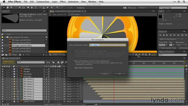 Animating with colors: After Effects Guru: Animating Logos