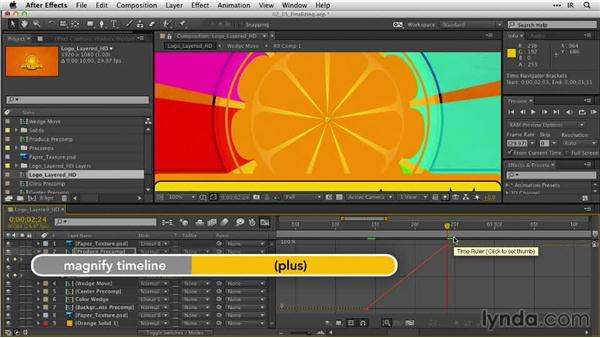 Finalizing the reveal: After Effects Guru: Animating Logos