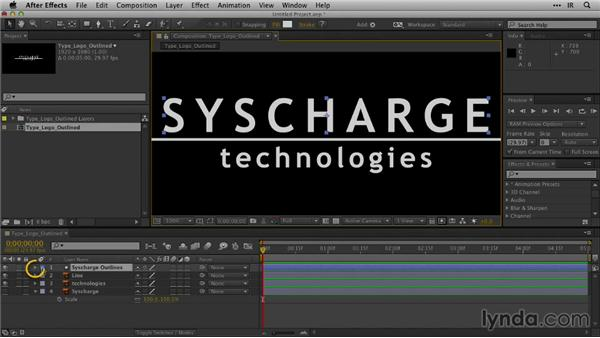 Creating animation without the font: After Effects Guru: Animating Logos