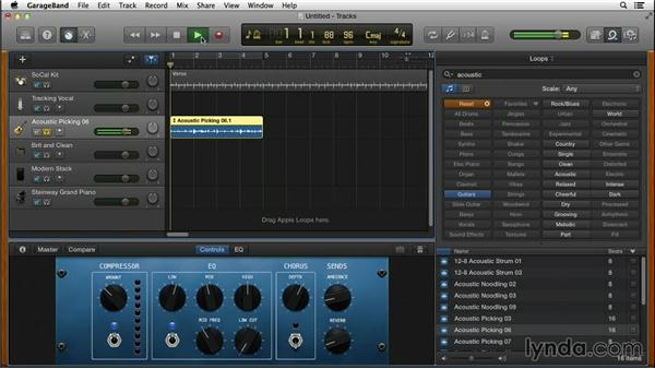 Shaping your sound with Smart Controls: GarageBand for Mac New Features