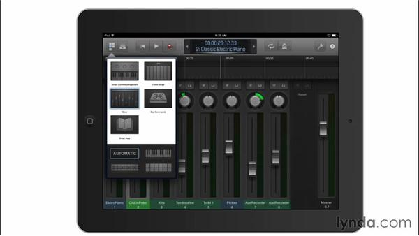 Controlling GarageBand remotely from an iPad: GarageBand for Mac New Features