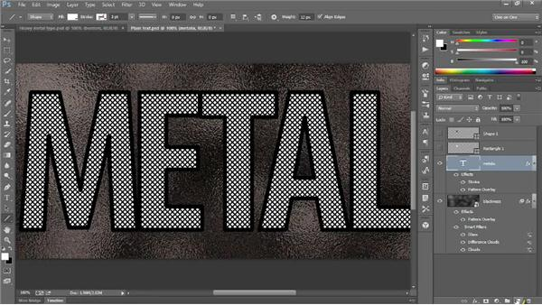 268 Creating heavy metal type (updated for Photoshop CS6 and CC): Deke's Techniques