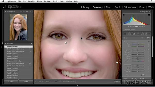 Adding contour: Enhancing a Portrait of a Young Woman in Lightroom