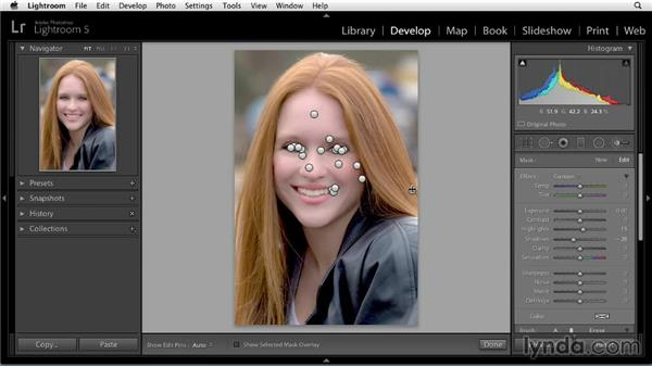Enhancing hair: Enhancing a Portrait of a Young Woman in Lightroom