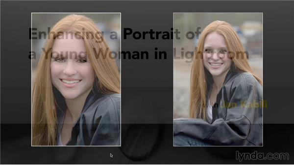 Next steps: Enhancing a Portrait of a Young Woman in Lightroom