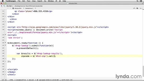 Fetching JSON data: jQuery Data with AJAX