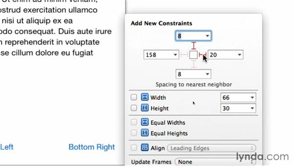 Adding and debugging Auto Layout constraints: iOS 7 SDK New Features