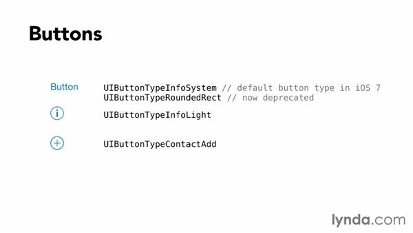 Changes to UIKit controls: iOS 7 SDK New Features