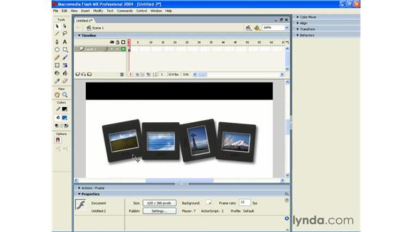 importing PNGs into Flash: Photoshop CS and Flash MX 2004 Integration