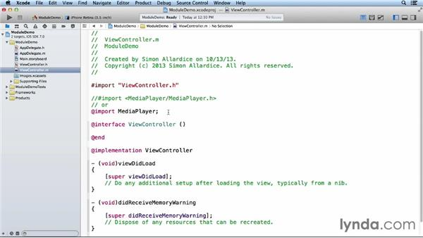 Modules in Objective-C: iOS 7 SDK New Features